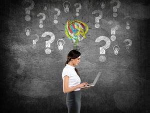 Woman-Determining-Best-Website-Platform