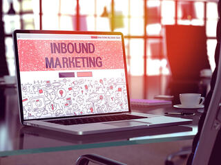 Computer on Desk with Inbound Marketing on Screen.jpeg