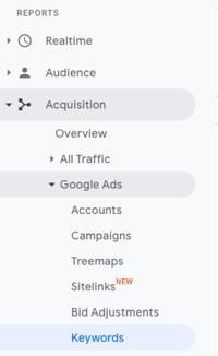 Google-Analytics-Keywords-Report-Navigation