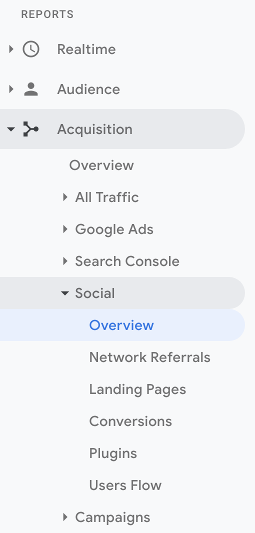Google-Analytics-Navigate-to-Social-Overview-June-2019