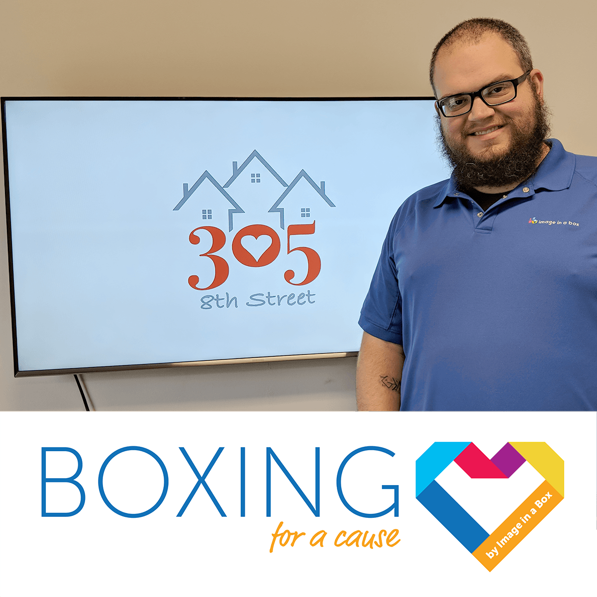Featured image on Boxing for a Cause - 305 8th Street - August 2018