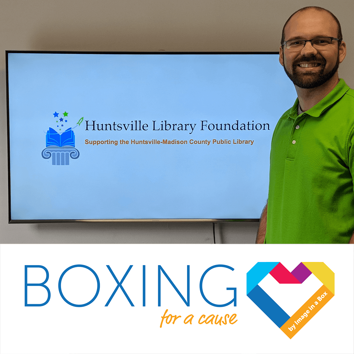 Featured image on Boxing for a Cause - Huntsville Library Foundation - February 2018