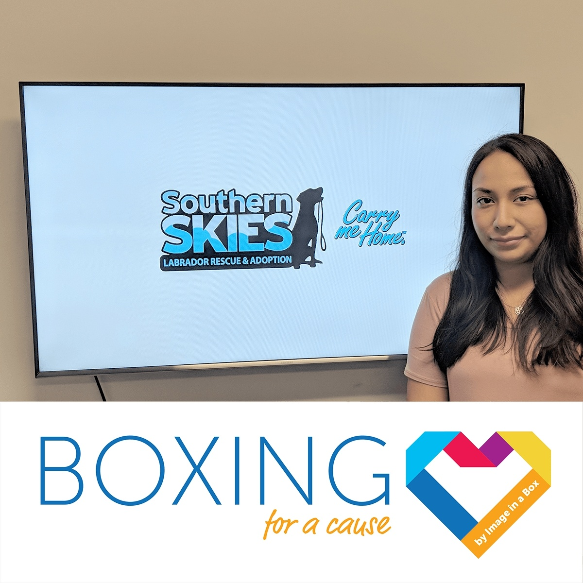 Featured image on Boxing for a Cause - Southern Skies Rescue - September 2018