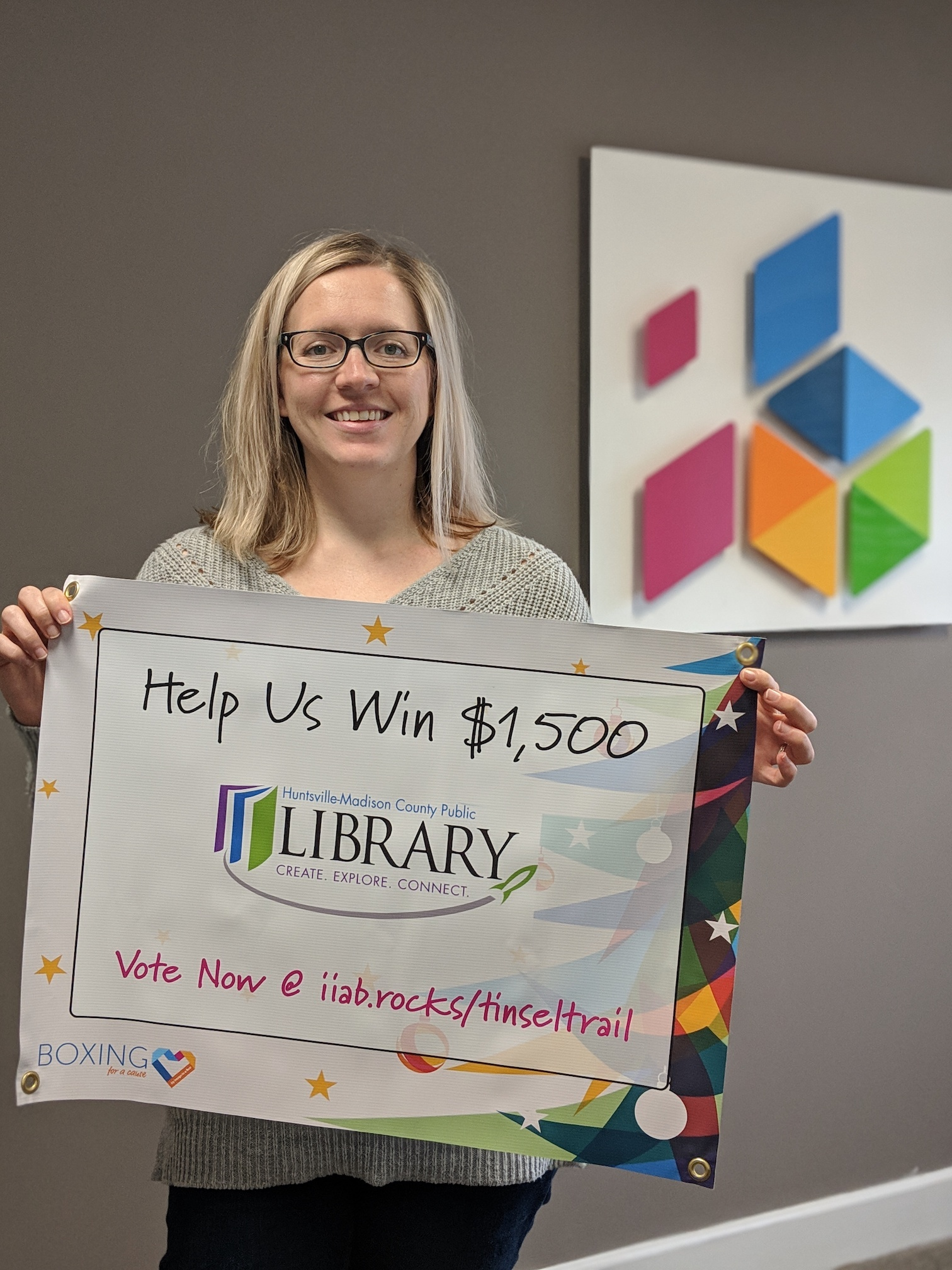 Featured image on Annual Boxing for a Cause Contest - Huntsville-Madison County Public Library