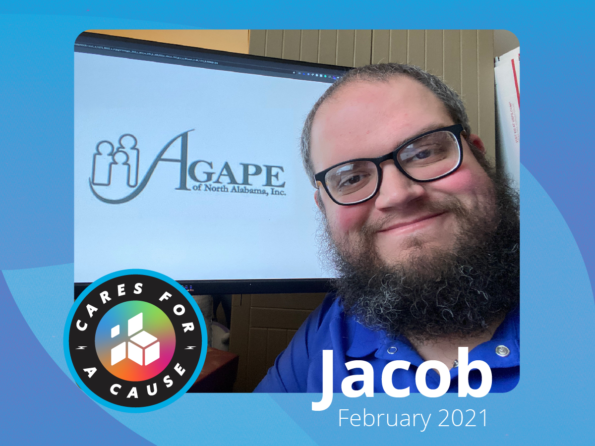 Featured image on Cares for a Cause - AGAPE of North Alabama, Inc. - February 2021